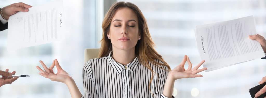 Use CBD the reduce stress and help focus